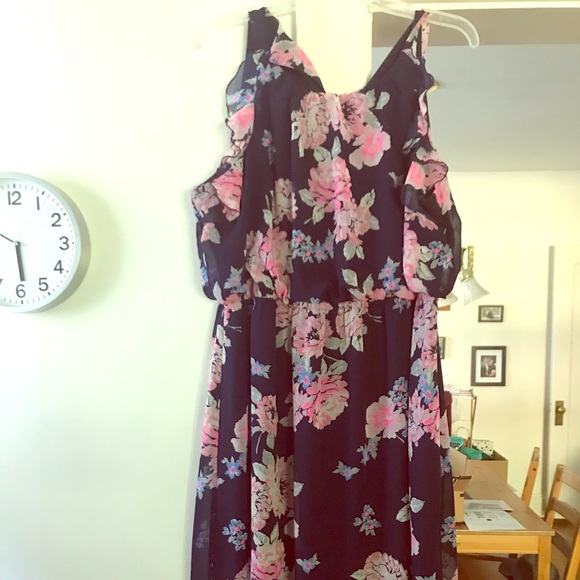 Old Navy breezy plus size maxi dress